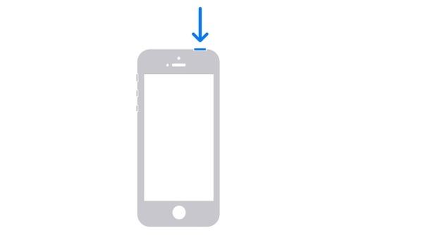 Käynnistä iPhone SE uudelleen