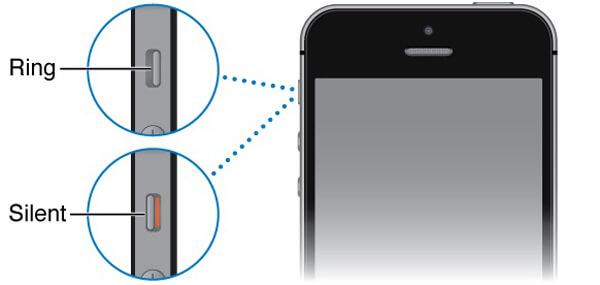 iPhone Slient -tila
