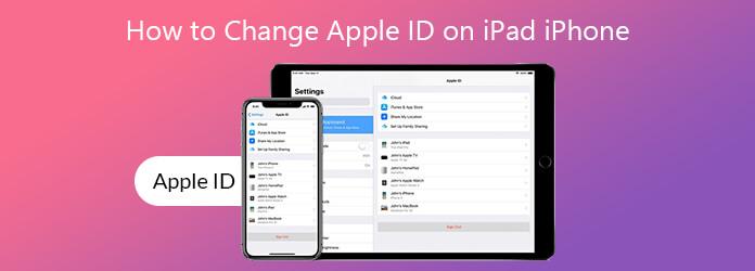 Kuinka muuttaa Apple ID: tä iPad iPhonessa