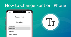 Change Font on iPhone