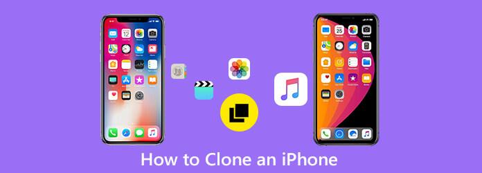 Klooni iPhone