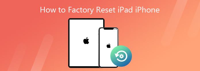 Kuinka tehdasasettaa iPad iPhone