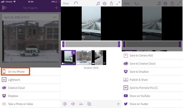 Adobe-yhdistämisvideot