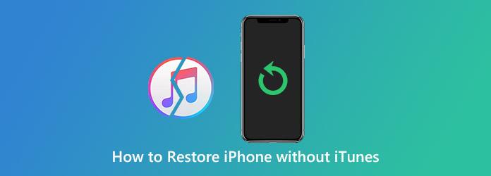 IPhonen palauttaminen ilman iTunesia