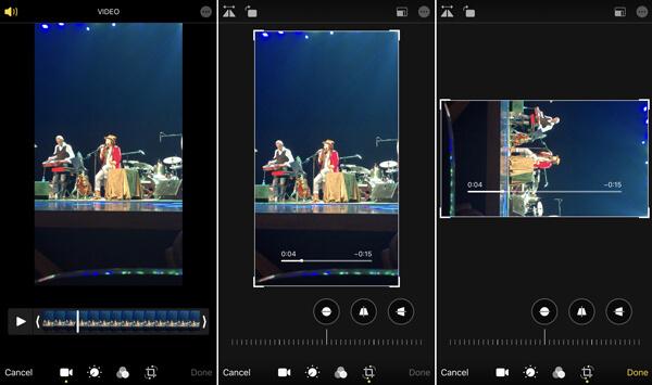 Käännetyt iPhone-videot