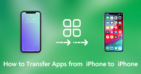 Transfer Apps and App Data from iPhone to iPhone