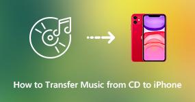 Siirrä CD-musiikki iPhoneen