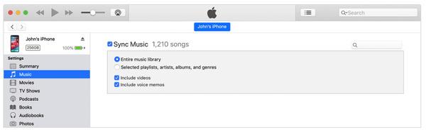 Siirrä musiikkia CD-levyltä iPhoneen iTunesin avulla
