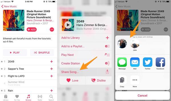 Sijoita iPhone-musiikki iPhoneen