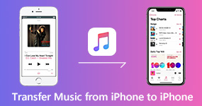How to Transfer Music from iPhone to iPhone