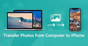 Siirrä valokuvia tietokoneesta iPhoneen
