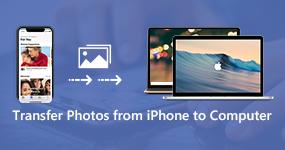Siirrä valokuvia iPhonesta tietokoneeseen