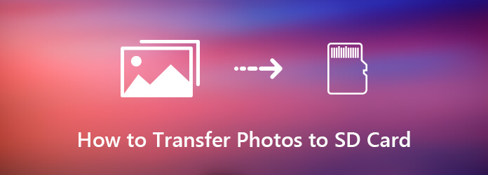 Siirrä valokuvat SD-kortille iPhonesta tai Androidista