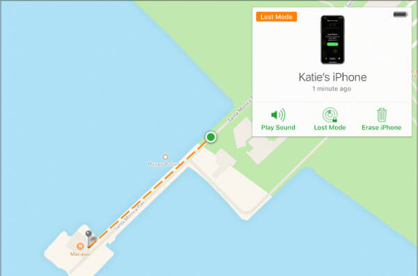 Avaa iPhone iCloud