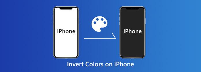 inverttisokeri-värit vs. iPhone