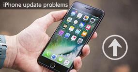 iPhone iPadin päivitysongelmat