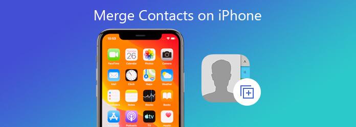 Yhdistä yhteystiedot iPhonessa