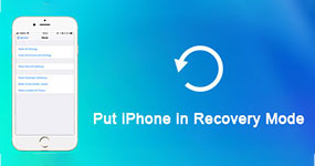 Put iPhone in Recovery Mode
