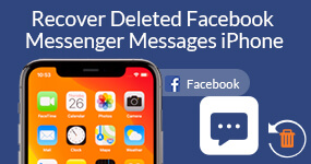 Восстановить удаленные сообщения на Facebook Messenger iPhone