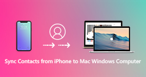 Sync Contacts from iPhone to Mac Windows Computer