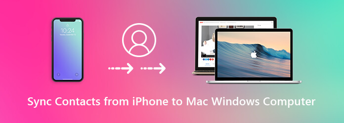 Synkronoi yhteystiedot iPhonesta Mac Windows-tietokoneeseen