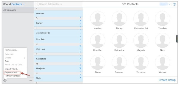 Synkronoi yhteystiedot iPhonesta Maciin iCloudin avulla