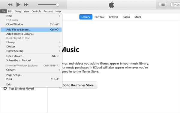 Siirrä Amazon Music iTunes-kirjastoon
