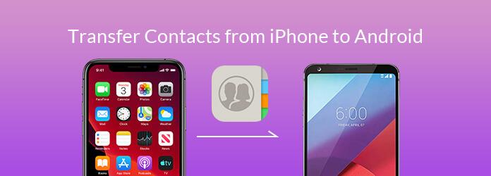 Siirrä yhteystietoja iPhonesta Androidiin