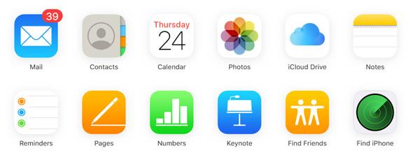 Lataa iCloud-varmuuskopio