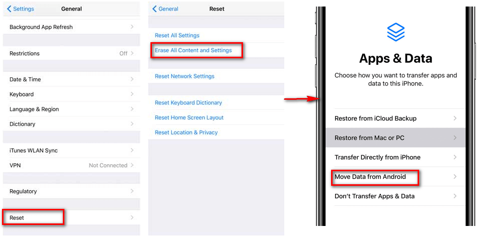 Reset iPhone Without Computer
