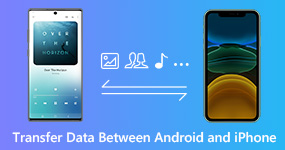 Transfer Data Between Android and iPhone