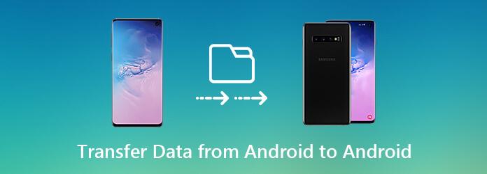 Siirrä tietoja Androidista Androidiin