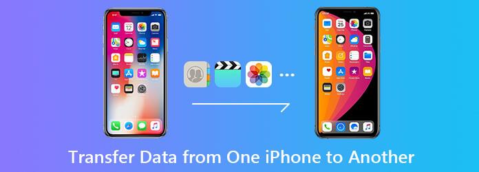 Siirrä tietoja yhdestä iPhonesta toiseen