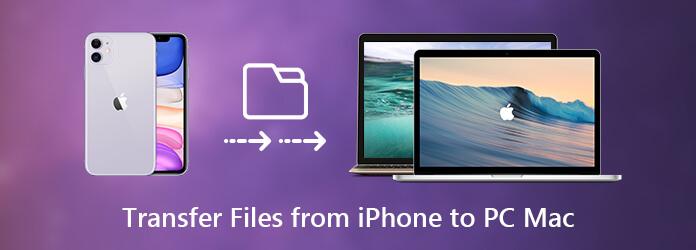 Siirrä tiedostoja iPhonesta tietokoneelle