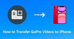 Siirrä GoPro-videot iPhoneen