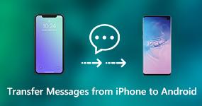 Siirrä viestit iPhonesta Androidiin
