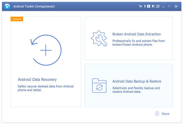 Choose Android Data Backup Restore