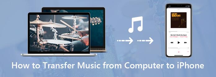 Siirrä musiikkia tietokoneesta iPhoneen