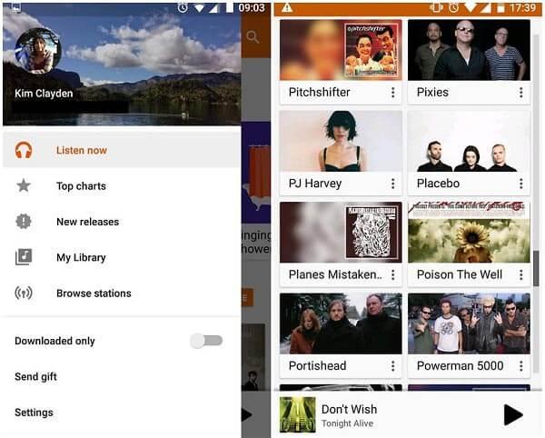 iTunes Google Play Musiikki