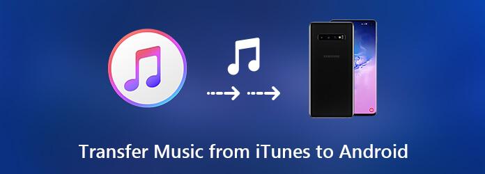 Siirrä musiikkia iTunesista Androiden