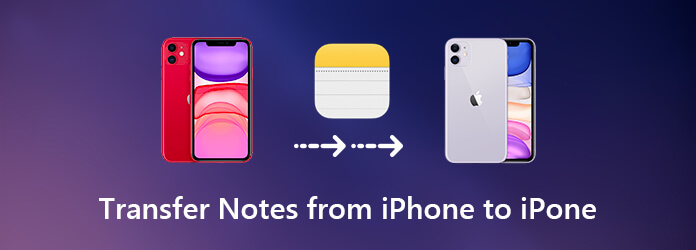 Transfer Notes from iPhone to iPhone