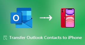 Siirrä Outlook-yhteystiedot iPhoneen