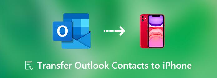 Siirrä yhteystiedot Outlookista iPhoneen