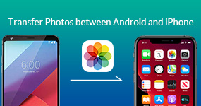 Transfer Photos between Android and iPhone