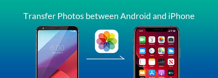 Siirrä valokuvia Androidin ja iPhonen välillä
