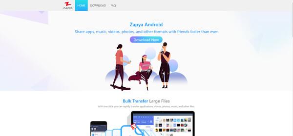 Siirrä valokuvia androidista iPhoneen ZAPYA: n avulla