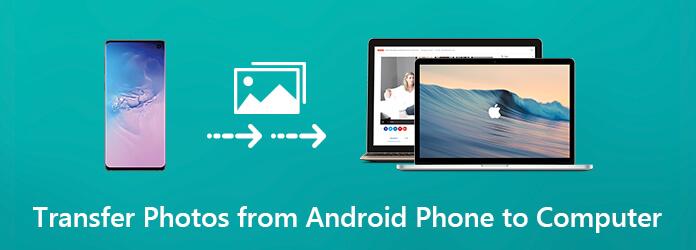 Siirrä valokuvia Androidista tietokoneeseen