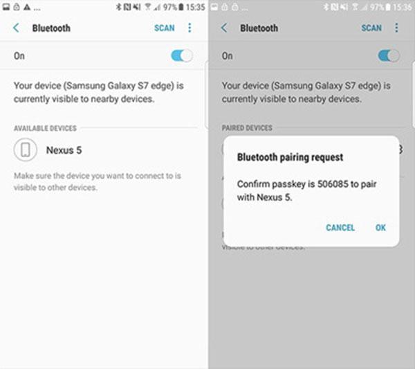 Yhdistä Bluetooth-laitteet
