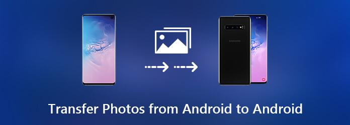 Siirrä valokuvia Androidista Androidiin