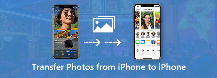 Siirrä valokuvia iPhonesta iPhoneen